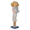 "15"" Wooden Nurse Christmas Nutcracker with Stethoscope"