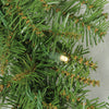 "9' x 10"" Pre-Lit Northern Pine Artificial Christmas Garland - Warm White LED Lights"