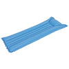 Inflatable Blue Swimming Pool Mattress Raft Float, 72-Inch