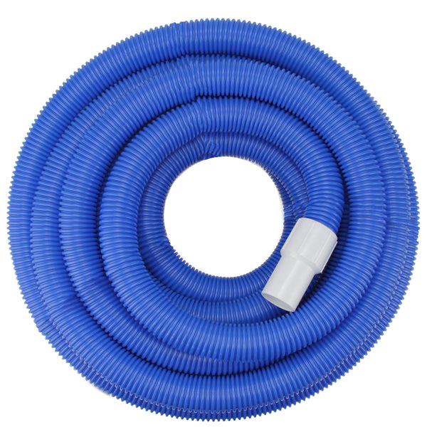 Blue Blow Molded Swimming Pool Vacuum Hose 100' x 1.5""