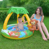 "40"" Inflatable Monkey with Palm Tree Sun Shade Baby Swimming Pool"