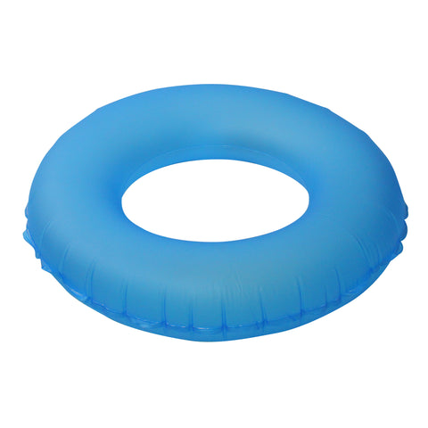 Classic Round Blue Inflatable Swimming Pool Inner Tube Ring Float, 30-Inch