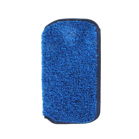 "11.5"" Blue Aqua Chem Mytee Foot Pool and Spa Slip-On Scrubber"