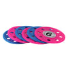 Set of 6 Pink and Blue Swimming Pool Diving Game Discs 4""