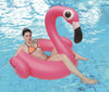 "53.5"" Inflatable Pink Jumbo Flamingo Swimming Pool Ring Float"
