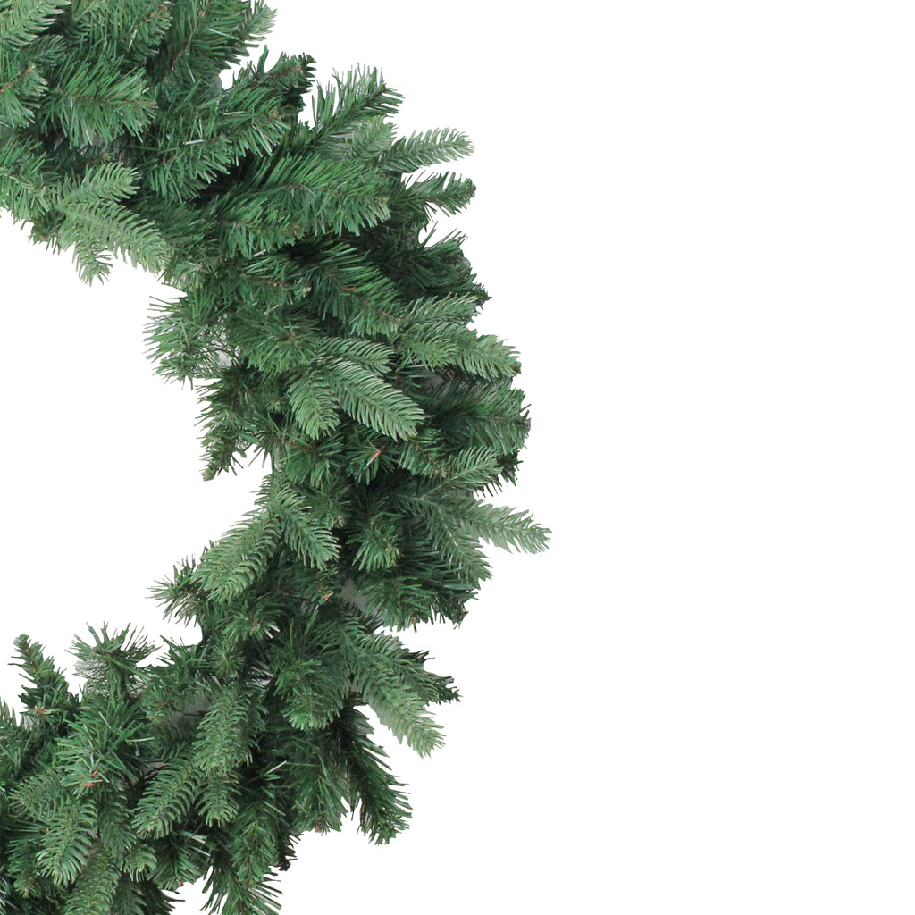 30 Green Northlight Coniferous Mixed Pine Artificial Christmas Wreath
