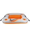 "29"" Inflatable Cooler Orange and White Riverland and Beverage Holder"
