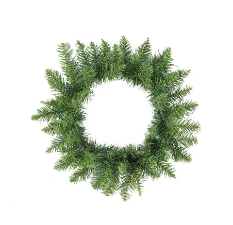 "12"" Buffalo Fir Artificial Christmas Wreath - Unlit"
