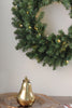"24"" Canadian Pine Artificial Christmas Wreath - Warm Clear LED Lights"