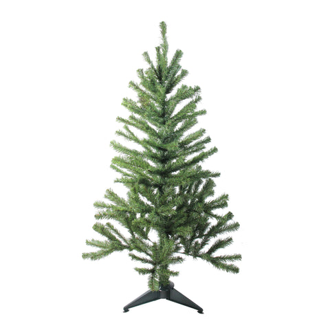4' Canadian Pine Medium Artificial Christmas Tree - Unlit