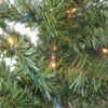 2' Pre-Lit Natural Two-Tone Pine Artificial Christmas Tree - Clear Lights