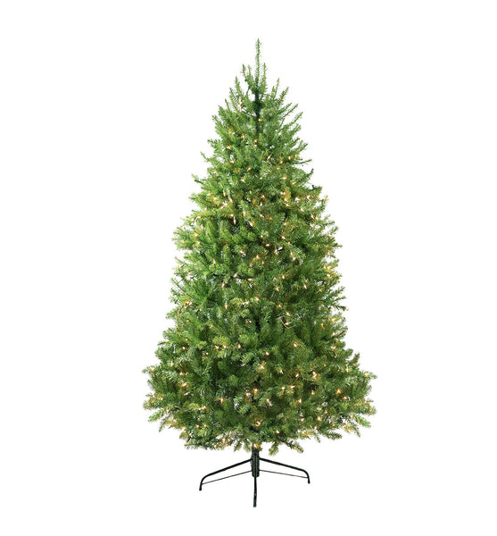9' Pre-Lit Full Northern Pine Artificial Christmas Tree - Clear Lights
