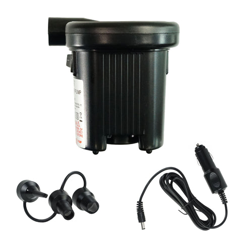 "5"" Black Battery Operated Air Pump Swimming Pool Accessory"