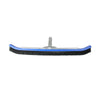 24'' Blue Curved Pool Wall Brush with Handle