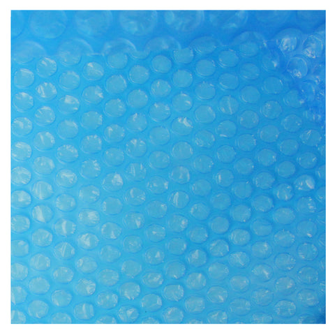 10.8 ft Blue Round Floating Solar Cover for Steel Frame Swimming Pool