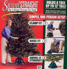 Swivel Straight 1-Minute Christmas Tree Stand - For Trees Up To 12'