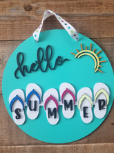 Load image into Gallery viewer, Hello Summer Flip Flop Kit