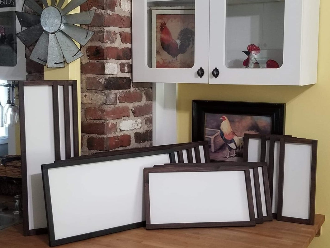Rustic Farmhouse Style Sign Blanks