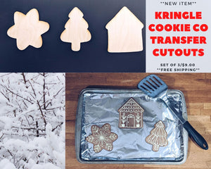 Kringle Cookie Co Cut Outs