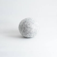 Load image into Gallery viewer, grey organic wool dryer ball