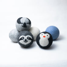 Load image into Gallery viewer, six pack organic wool dryer balls