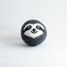 Load image into Gallery viewer, sloth organic wool dryer ball
