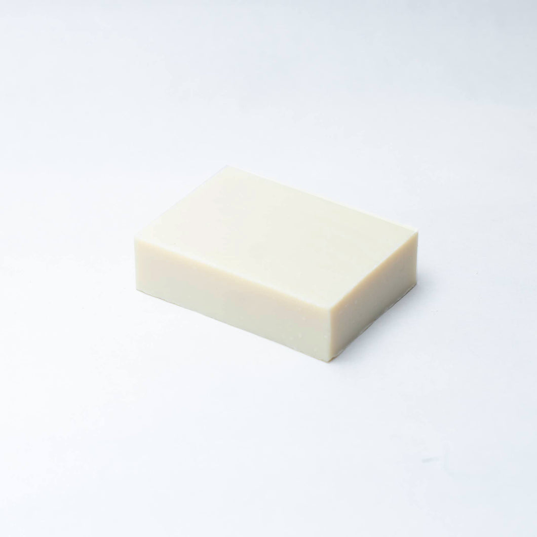 unscented olive oil soap bar from Zatik Naturals