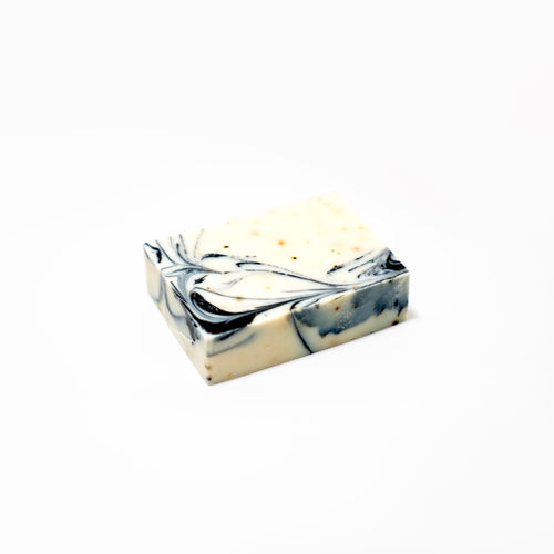 sea kelp charcoal bar soap from Zatik Naturals