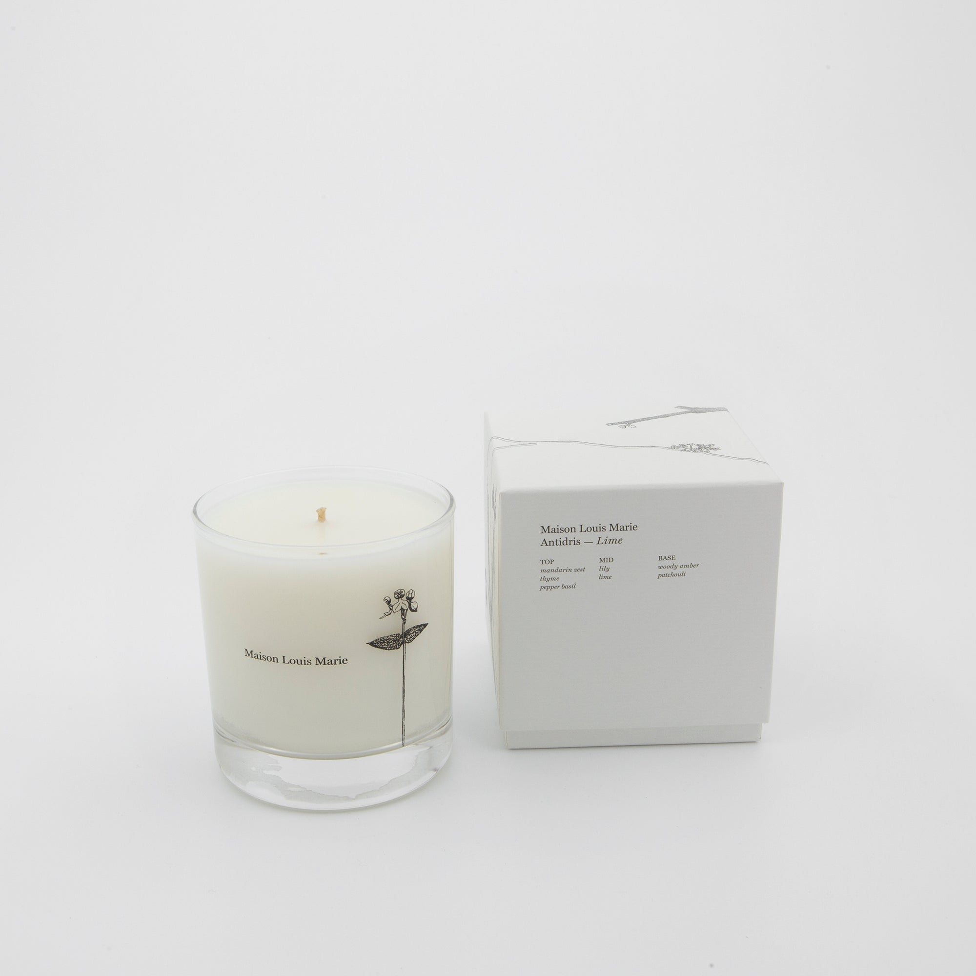 Antidris - Lime Candle