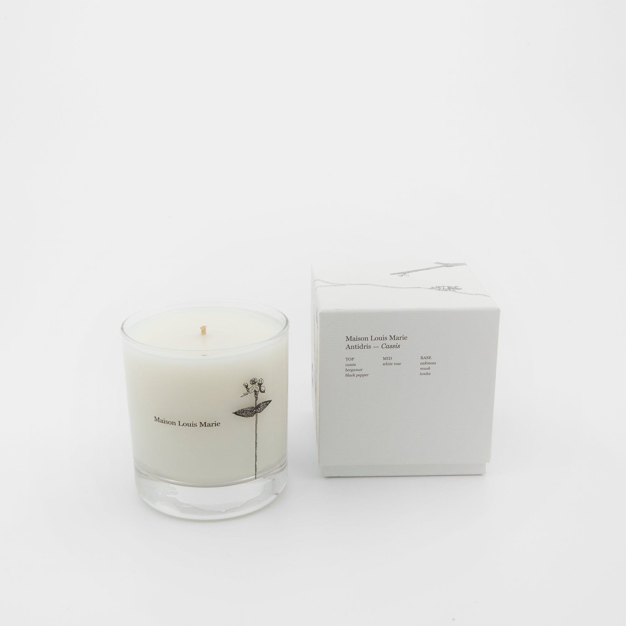 Antidris - Cassis Candle
