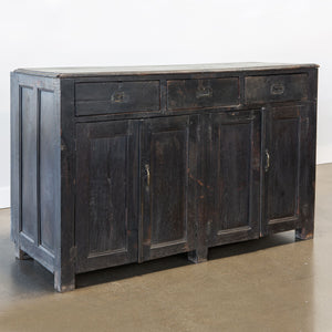 Vintage Ebonized Sideboard