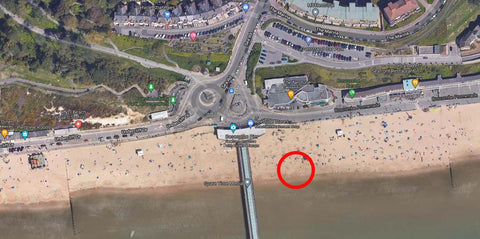 TopEco Home Boscombe Pier Beach Clean Up Microplastics Awareness Drive