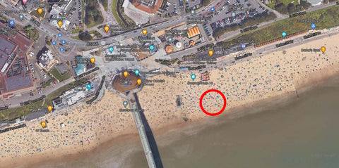 TopEco Home Bournemouth Pier Beach Clean Up Microplastics Awareness Drive