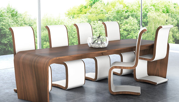 Sustainable wood dining table - TopEco Home