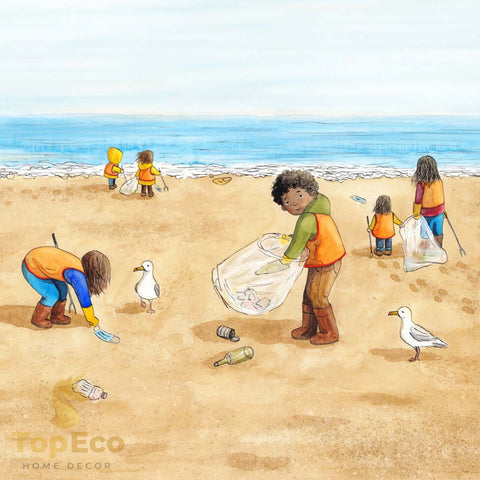TopEco Home Sponsored Beach Clean-Up