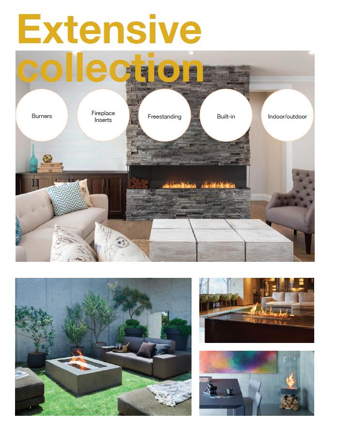 Extensive Eco Fire Collection