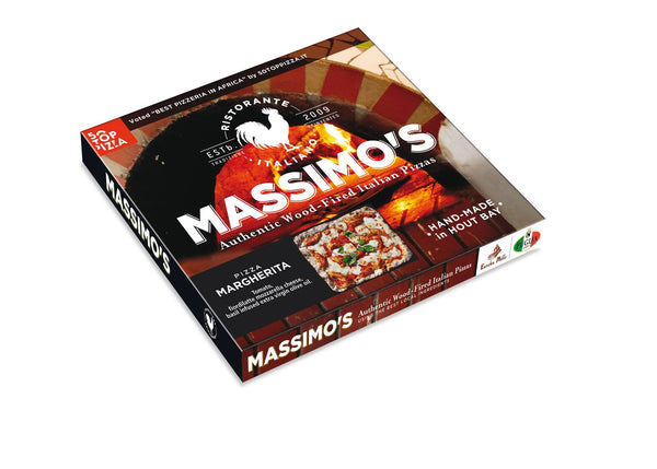 Massimo's Authentic Wood-Fired Italian Pizza (Frozen)