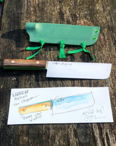 Chef Linton Hopkins x Feder Knife Limited Edition