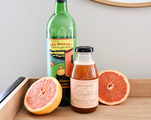Eugene and Elizabeth's Grapefruit Cordial
