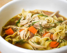 Load image into Gallery viewer, Chicken Noodle Soup (Quart)