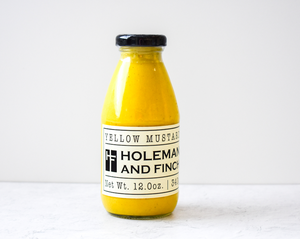 Holeman and Finch Yellow Mustard (12oz)