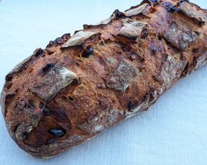 Cranberry Walnut Pain au Levain