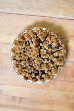 Load image into Gallery viewer, Blueberry Crumb Pie