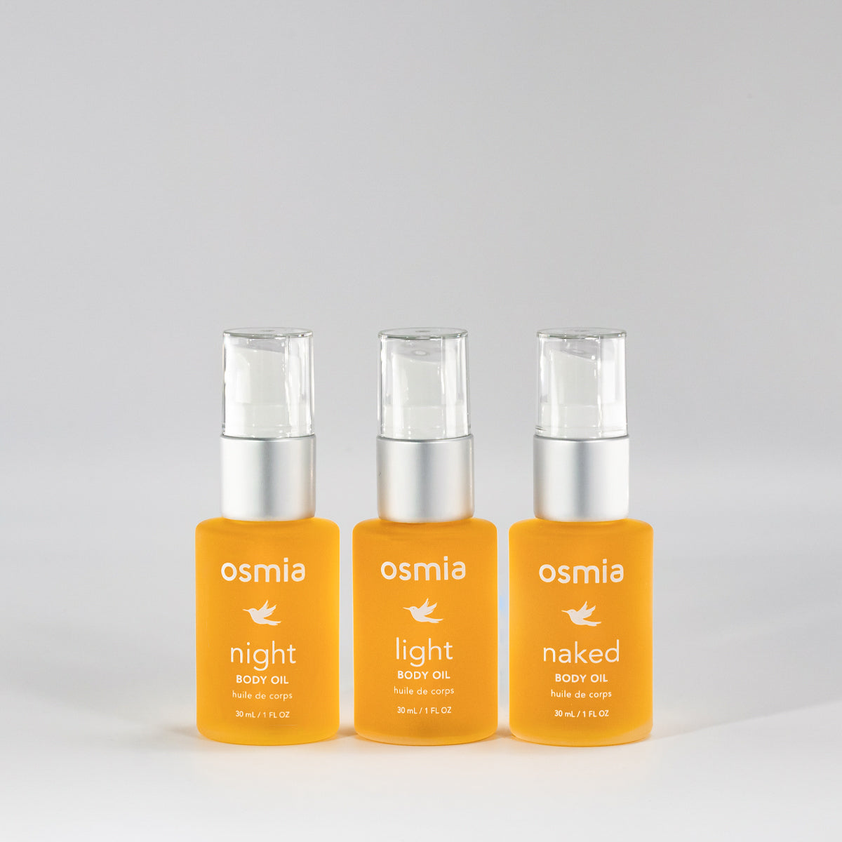 Body Oil Triplet