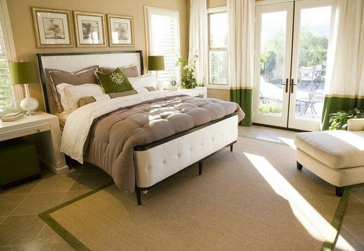 a cozy bedroom to unwind, read or luxuriate in privacy.