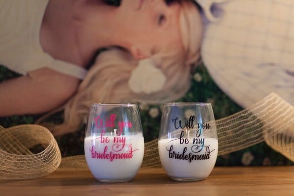 Stemless Wine Glass Candles
