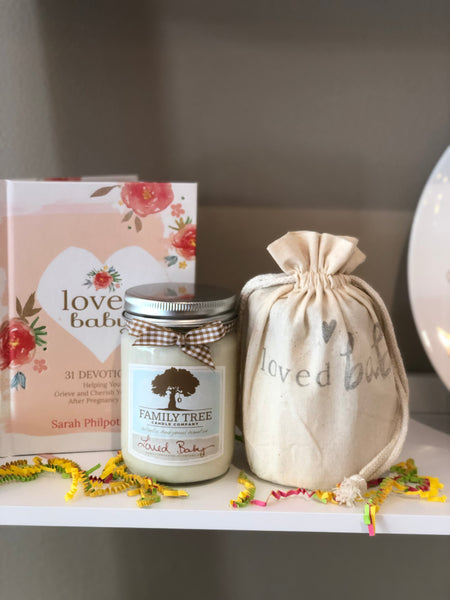 The Loved Baby Candle (Pregnancy Loss)
