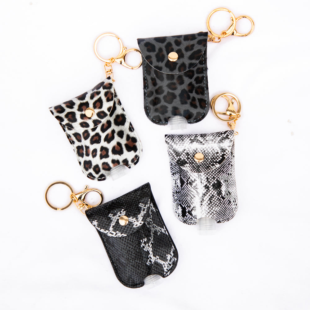 Animal Print Hand Sanitizer Cases-Pretty Simple Wholesale