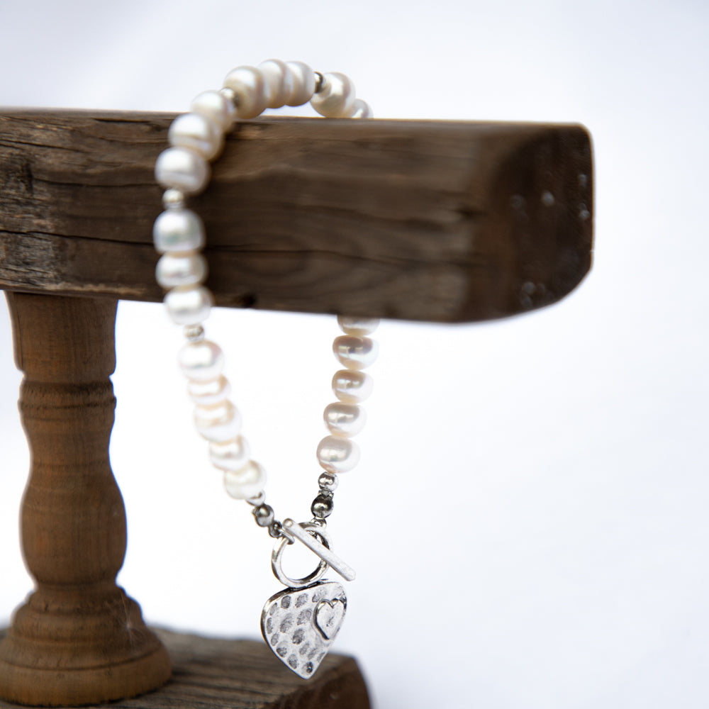 Lucy Fresh Water Pearl Bracelet-Pretty Simple Wholesale