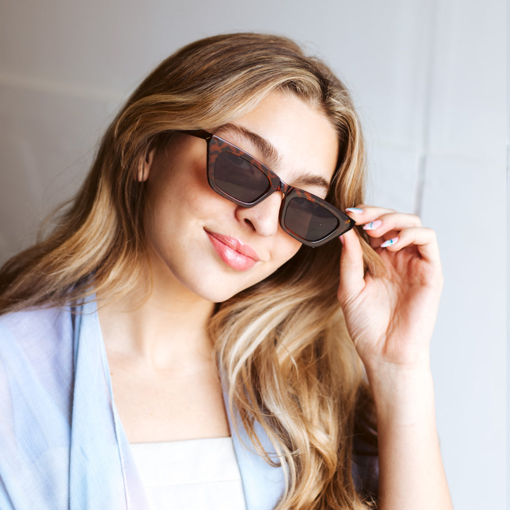 Catie Cat Eye Frame Sunglasses